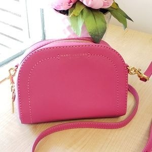 Marc Jacobs Magenta Pink Crossbody Purse
